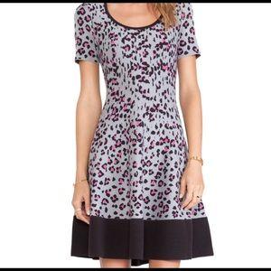 Kate Spade Cyber Cheetah Sweater Dress